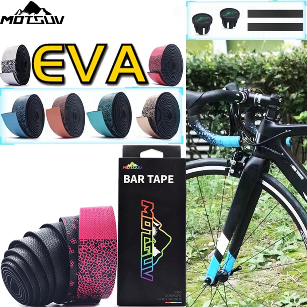 Bicycle Handlebar Bar Tapes Non-slip damping Bike Handlebars Wrap Wear Resistant