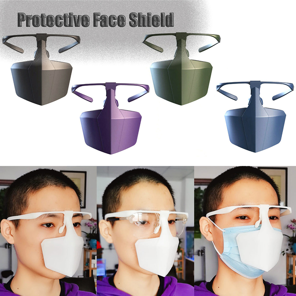 Face-protection Protective Masks Splash-proof Dust-proof Masks Adult Protective Products