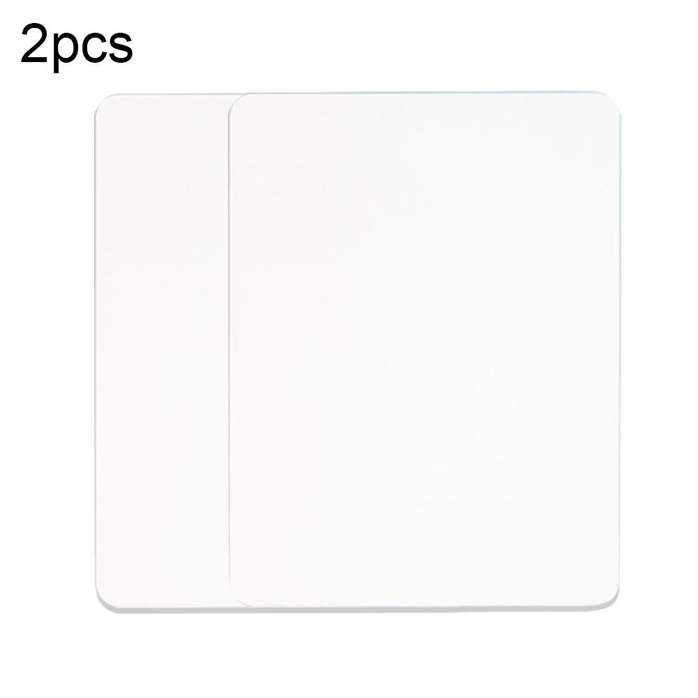 2pcs/set Meeting Room School Kids Study Dry Wipe Whiteboard Home Durable Classroom Numeracy Learning Writing Drawing Office