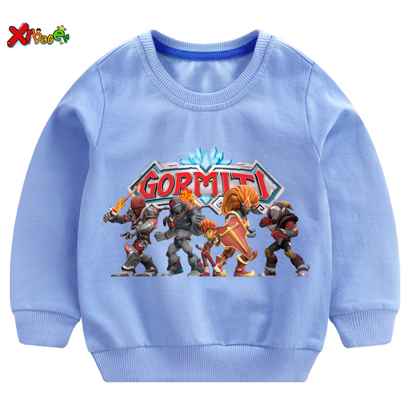 Kids Hoodie Clothing Gormiti 2020 Hoodies Sweatshirt  Toddler Boy Clothes Girl Boys Sportswear Clothes Kids Hoodies Sweatshirt