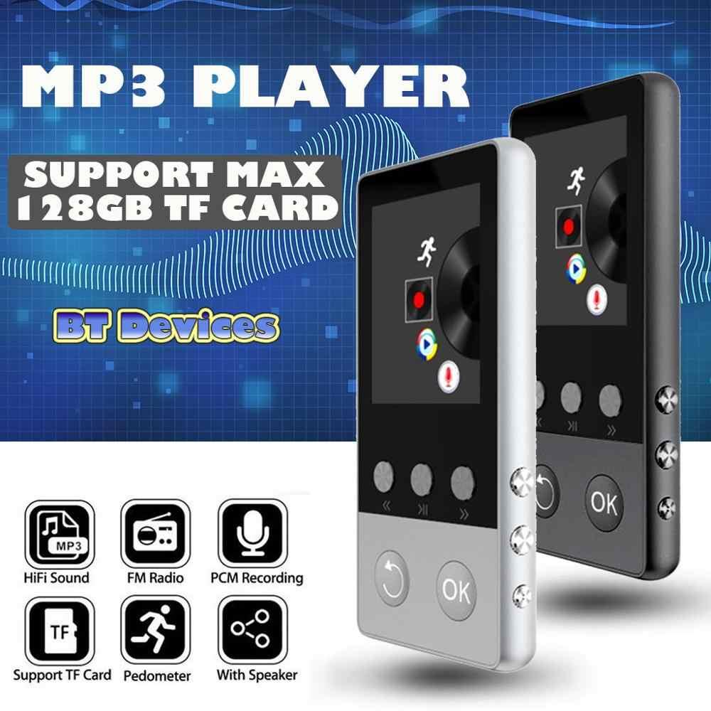 Portatile Blueteeth MP3 4 Giocatore di Musica Con FM Hi-Fi Senza Perdita di Supporto fino a 128GB Hifi senza perdita di qualità del suono, 5D suono S25
