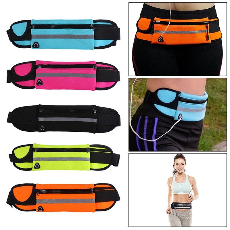 2019 Newest Waist Bum Bag Fanny Pack Belt Money For Running Jogging Cycling Phones Sport Running Waterproof Belt Waist Bags