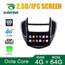 Octa Core 1024*600 Android 8,1 navegación GPS con DVD para coche reproductor sin cubierta coche estéreo para Chevrolet TRAX 2014-2016 Radio Unidad Most important