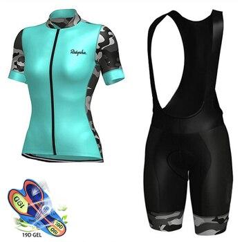 Raphaful-Maillot de equipo profesional para Ciclismo de montaña, triatlón, 2020