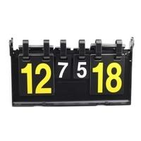 Jogo esporte placar 4 dígitos futebol basquete placar futebol vôlei handebol tênis esportes placares Ferram. atividade ar livre     -