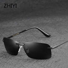 Classic Retro Men Polarized Glasses For Driving Rectangle HD Oculos Sunglasses Anti-glaring Car Driver's Glasses gafas de sol цена 2017