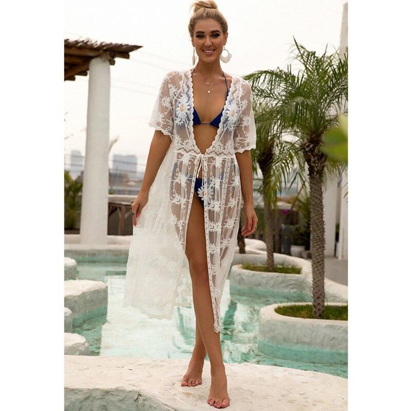 New Kimonos Beachwear Hand-Woven  Women Swimwear  5