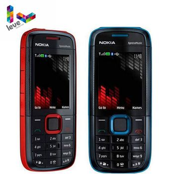 Nokia 5130 XpressMusic 5130XM Mobile Phone Bluetooth FM Support Russian Keyboard Original Unlocked Cell Phone Free Shipping