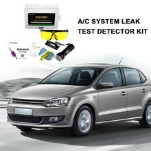 Automotive Air Conditioning Leak Detection Tool Check Universal Fluorescer Test Kit Repair Equipment