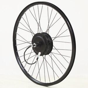 Image 3 - 電動自転車変換キット48v 500ワット13AH usbマウンテンバイクホイールモータ用26/29インチ電動自転車accessori