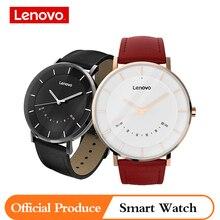 Lenovo original relógio s relógio inteligente relógios de quartzo lembrete inteligente 50 m à prova dwaterproof água longa vida da bateria esportes smartwatch