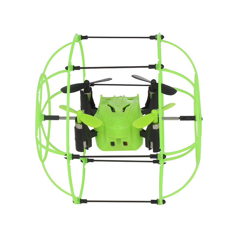 Mini Drone Sky Walker 2.4GHz 4CH Fly Ball RC Quadcopter Flip Roller Headless Drone RC Helicopter Anti-collision Toys For Kids