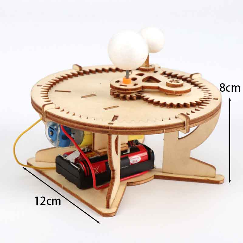 Kids DIY Sun-Moon-Earth Geography Model Scientific Experiment Toys Kits STEM Science Project Worldwide Education For Kids