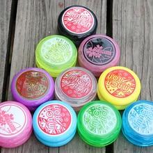2PCS Macaron 2A Basic Yo-Yo Professional Modified Ball  2 set of yoyo kit for gift