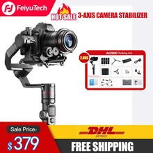 FeiyuTech AK2000 Handhel Gimbal فييو 3 محور كاميرا استقرار لسوني كانون 5D نيكون 2.8 كجم باناسونيك GH5 الحمولة