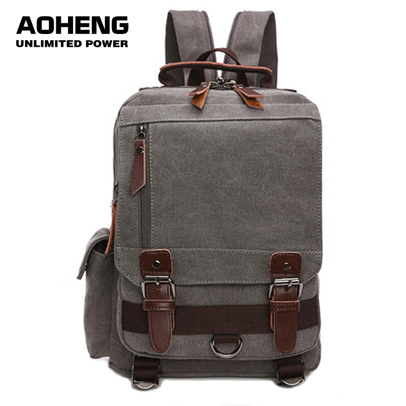 Canvas Multifunctional Backpack 35