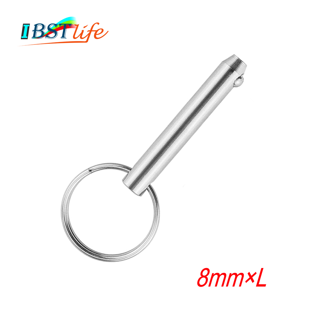 8mm Marine Grade Quick Release Ball Pin For Boat Bimini Top Deck Hinge Marine Stainless Steel 316 Boat