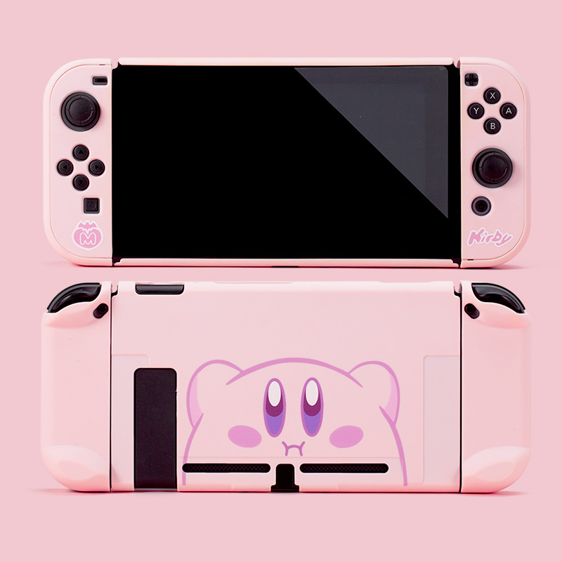 NS Switch Console Kirby of star PC Protective Case For Nintendos Switch NS NX Joy-Con Cases Hard Back Cover Shell Accessoires