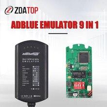 Caminhão adblue adblue 9 em 1 emulador com sensor de nox programação adaptador emulador adblue 9 in1 caminhão ferramenta de diagnóstico