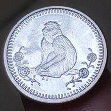 18 мм Gibraltar, настоящая коморативная монета, оригинальная коллекция