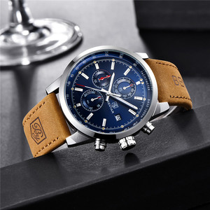 Image 3 - BENYAR 2020 New Blue Men Watches Top Brand Luxury Waterproof Sport Quartz Chronograph Military Watch Men Clock Relogio Masculino
