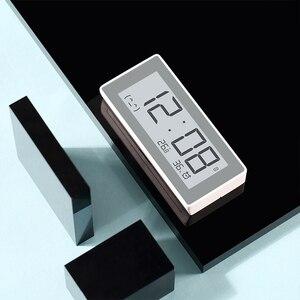 Image 4 - Xiaomi MiaoMiaoCe E קישור דיו LCD מסך דיגיטלי שעון מד לחות דיוק גבוה מדחום טמפרטורת לחות חיישן
