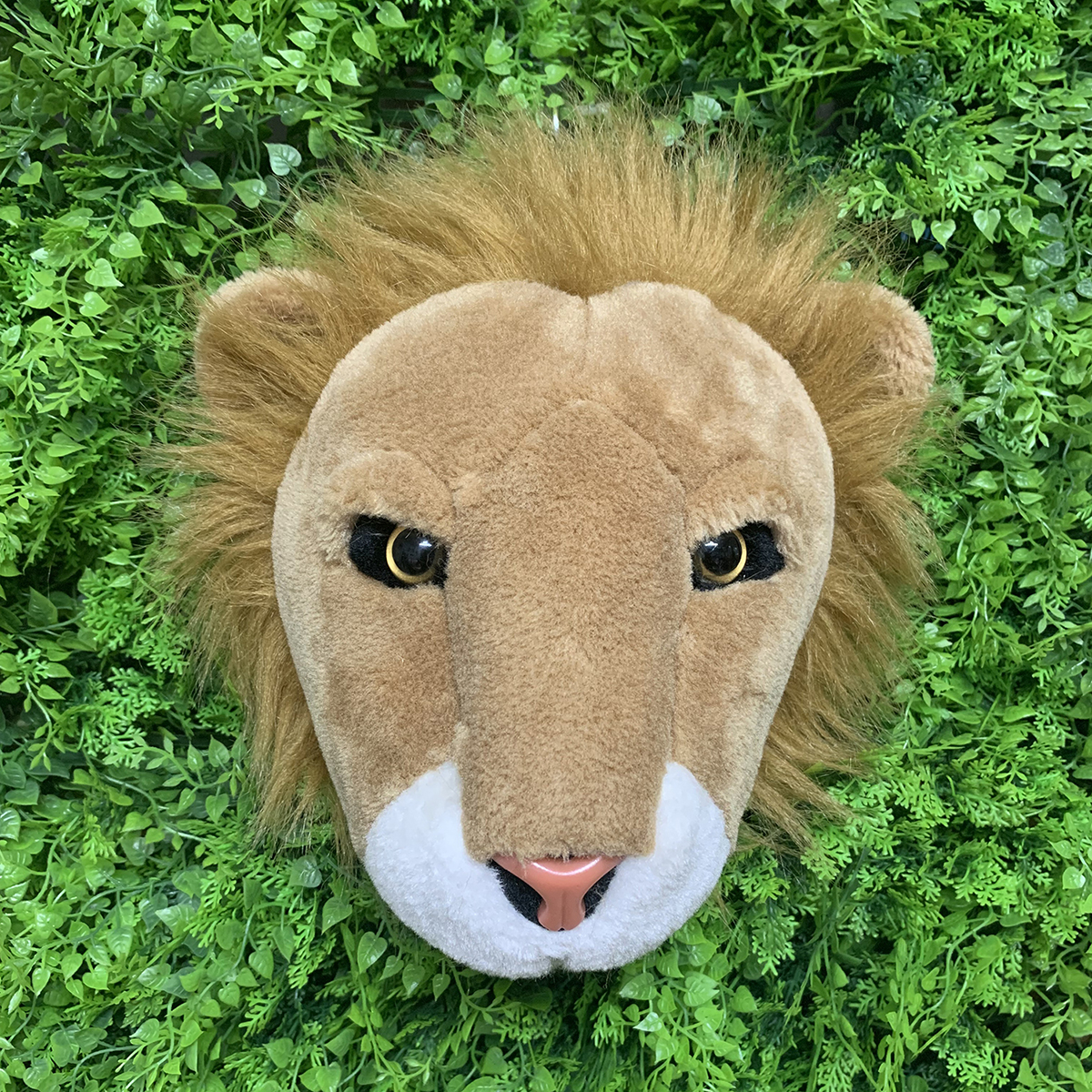 Image 5 - Most popular lifelike wall decoration lion shaped plush animal head toy-in Plush Wall Stuff from Toys & Hobbies