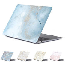 Marmer Clear Laptop Case Voor Macbook Pro 13 A1502 A1278 A1708 Matte Glitter Bloem Cover Voor Apple Mac Book 13.3 inch A2159 2019(China)