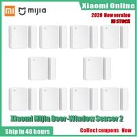Xiaomi-Sensor inteligente Mijia 2 para puerta y ventana, dispositivo de Control automático de tamaño de bolsillo para Mi Home app, 2020