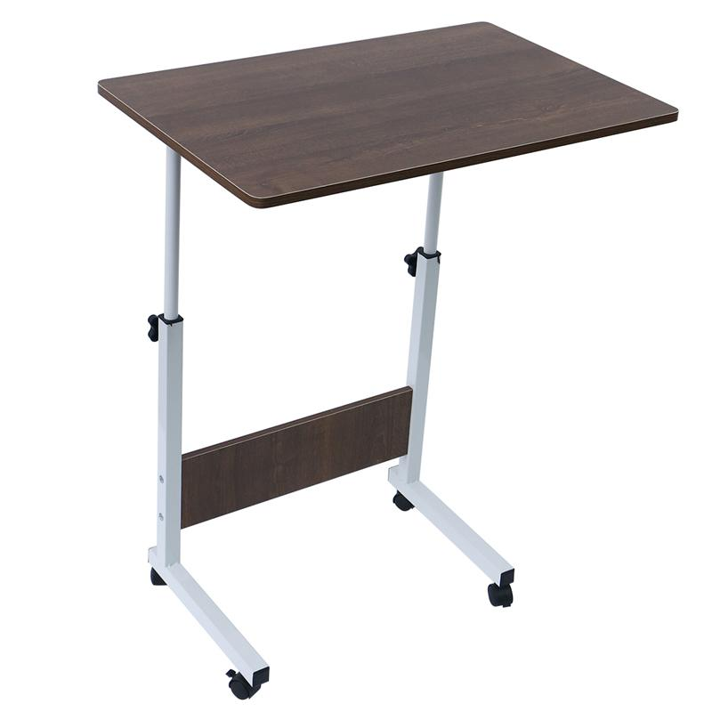Laptop Table Foldable Movable Bedside Desk Multifunctional Laptop Stand Lifting Side Table for Home Room