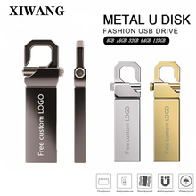 metal pen drive memory stick 128GB 64GB 32GB usb flash drive 16GB 8GB pendrive flash memory u disk memoria usb Free custom LOGO цена и фото