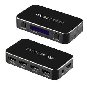 Image 5 - 4 ports 18gbps HDR 4K Commutateur HDMI 4x1 Support HDCP 2.2 Mini HDMI 2.0 Commutateur HUB Boîte Avec Télécommande INFRAROUGE Pour Apple TV