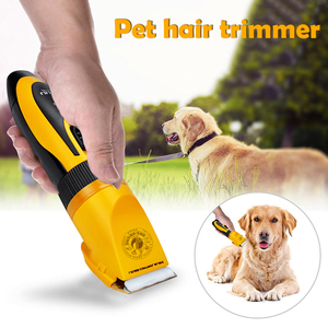 Rechargeable Pet Dog Hair Trimmer Grooming Clippers Low-Noise Cat Cutter Machine Shaver Electric Scissor Clipper USB Charging