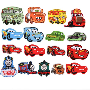 Team logo iron on patch  Cars  Stickers Appliques Heat Transfer Diy Badges Iron-On Transfers For kids children Clothing zotoone rose patches iron on blooming flower stickers for clothing heat transfers diy plants patch for kids washable appliques d