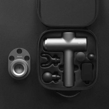 2020 nuevo Xiaomi mi Meavon 3200r/min masajeador corporal eléctrico inteligente doble modo pistola de Fascia de silicona cabeza masaje profundo para gimnasio en casa