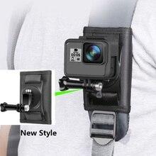 カクレクマノミクイック添付バックパックバッグクリップバックルxiaomi李4 18k mijia移動プロヒーロー345789 sjcam SJ5000 SJ6/8/9プロ/最大H9Rカメラ