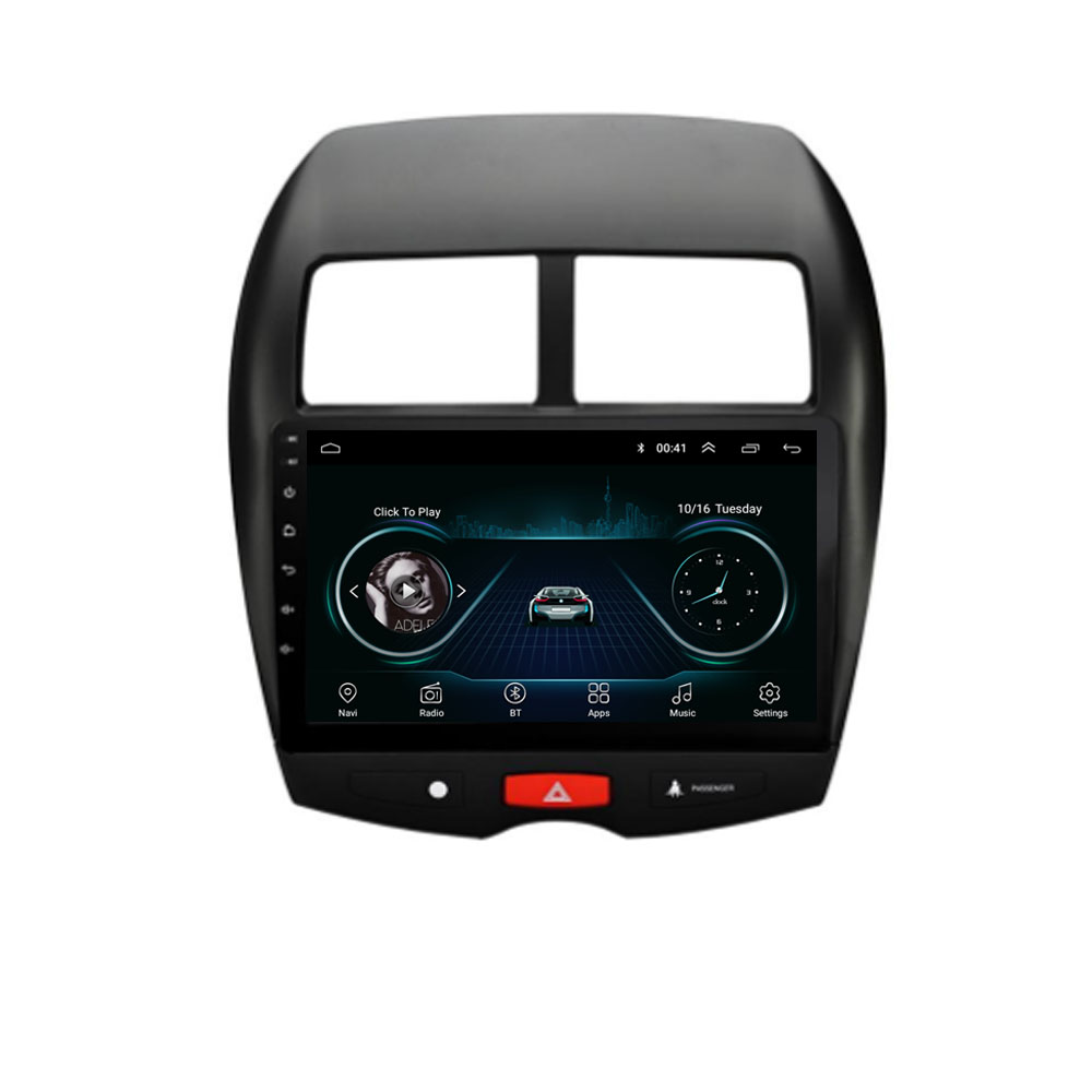 4G LTE Android 8.1 Für Mitsubishi ASX Peugeot 4008 <font><b>CITROEN</b></font> <font><b>C4</b></font> 2010-2015 Multimedia Stereo Auto DVD Player Navigation GPS Radio image