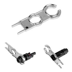 Металлический Соединительный инструмент Mc4, гаечный ключ, деталь Pv, крышка для инструмента на солнечной батарее, Diy ключ для разъемов, Специа...