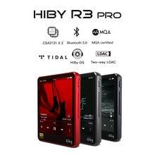 Hiby r3pro mp3 rede streaming leitor de música contrata lossless áudio digital maré mqa 5gwifi ldac dsd rádio web duplo cs43131