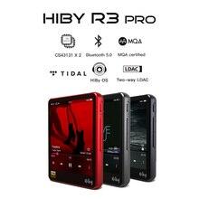 HiBy R3Pro MP3 ağ akışı müzik çalar işe kayıpsız dijital ses gelgit MQA 5g wifi LDAC DSD web radyo çift CS43131