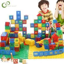 50 Uds padres en casa de bloques de construcción educativos bloques de construcción de aprendizaje juguetes para niños de regalo GYH