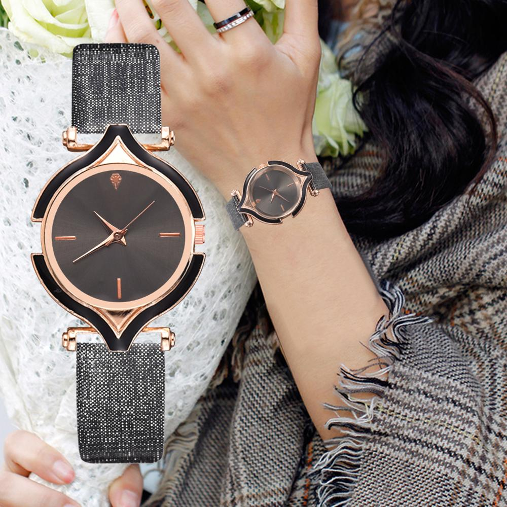 Fashion Simple Women Sports Watches Ladies Casual Leather Dress Quartz Watch Montre Femme Zegarek Damski Relojes