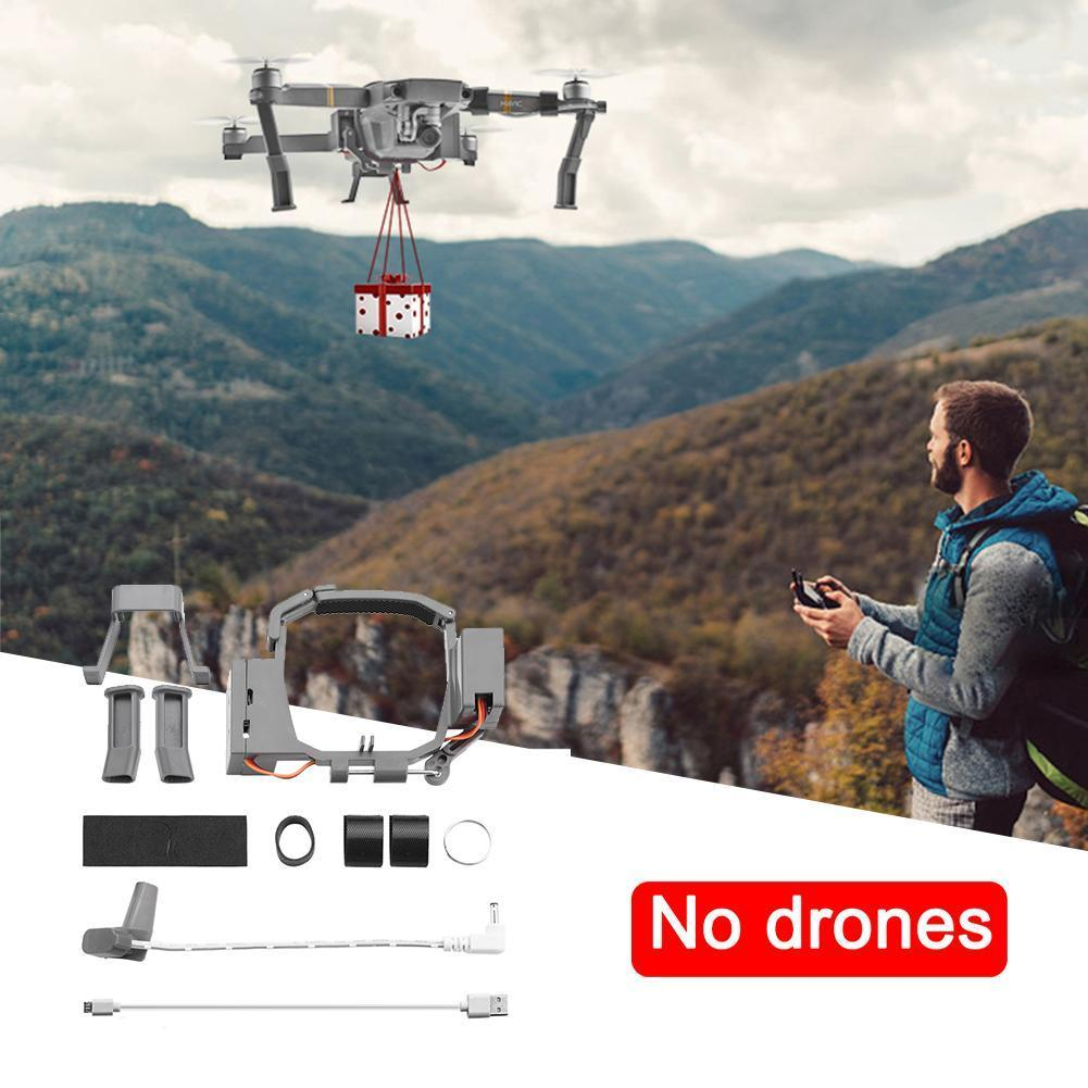 For DJI MAVIC Drone Remote Delivery Parabolic Air-Dropping Drone  Fishing Thrower Accessories 2 System Mavic Pro Zoom For D M1F7