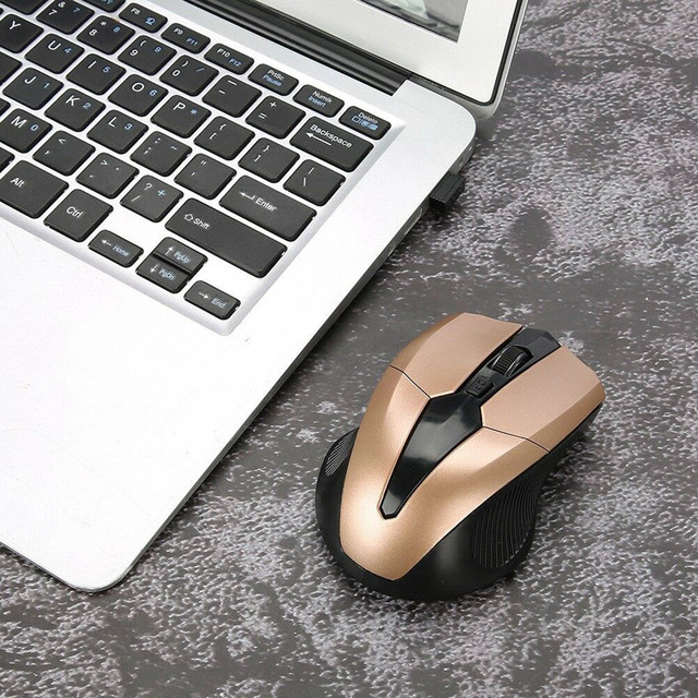 Portable 319 2.4Ghz Wireless Mouse Adjustable 1200DPI Optical Gaming Mouse Wireless Home Office Game Mice for PC Computer Laptop 4