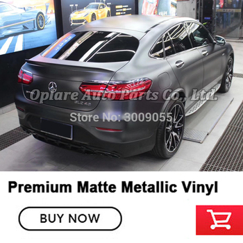 Premium Matte Metallic dark platinum Vinyl Wrapping film Indoor life 5 years when followed rules of application and use