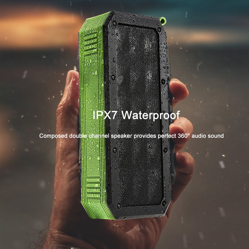 Ggmm W01 Portable Bluetooth Wireless Speaker Better Bass 12 Hour Playtime 33ft Bluetooth Range Ipx7 Water Resistance Column Portable Speakers Aliexpress