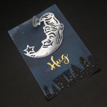 купить Night under the city Metal Cutting Dies for Scrapbooking Photo Album Embossing DIY Paper Cards Making Decorative Stencil Craft по цене 120.49 рублей