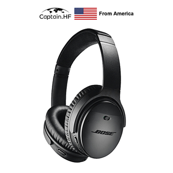 US Captain Quiet and Comfort Headphone Wireless Bluetooth Earphones Stereo Sound Headsets Acoustic Noise Cancelling Headphones zealot b21 bluetooth 4 0 stereo bass hifi headphones touch contorl noise cancelling portable wireless sports headphone earphones