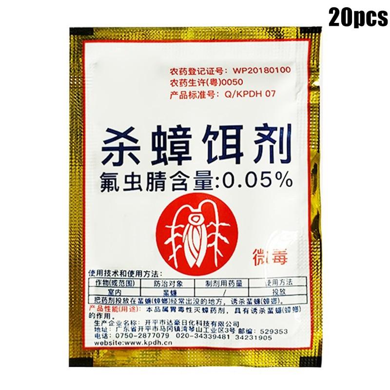 Effective Cockroach Killing Bait Powder Cockroach Repeller Home Pest Killer Insecticide HUG-Deals