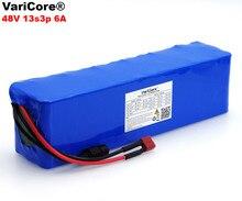 VariCore Batería de alta potencia para bicicleta eléctrica, 48V, 6ah, 13s3p, 18650, ciclomotor, bricolaje, 48v, BMS, protección + PCB
